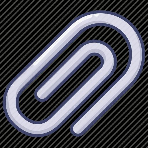 attachment, clip, paper, stationary icon