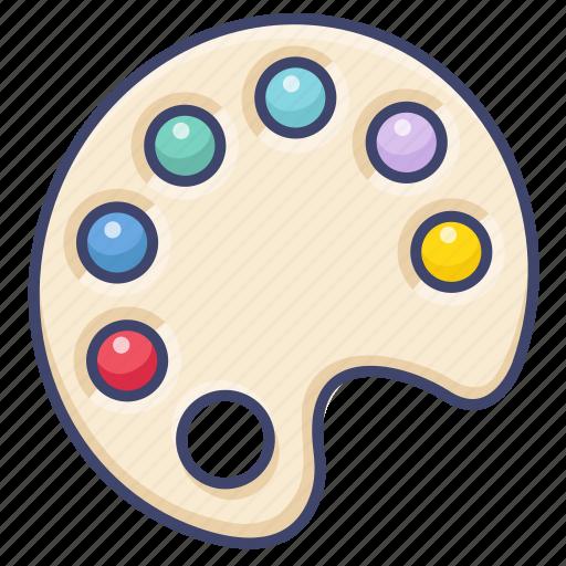 color, mixer, paint, palette icon