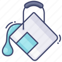 bucket, color, fill, tool icon