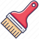 brush, color, paint, tool icon
