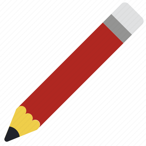 blank, drawing, eraser, pencil, stationary icon