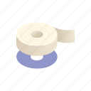 adhesive, duct, office, repair, stationary, sticky, tape icon