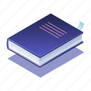 book, education, knowledge, learning, literature, reading, study icon