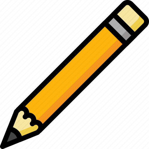 blank, color, office, pencil, school, stationary, ultra icon