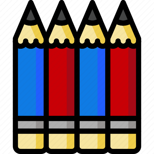 Color, office, pencils, school, stationary, ultra icon - Download on Iconfinder