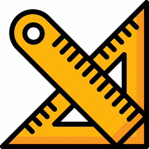 Color, ruler, school, set, square, stationary, ultra icon - Download on Iconfinder