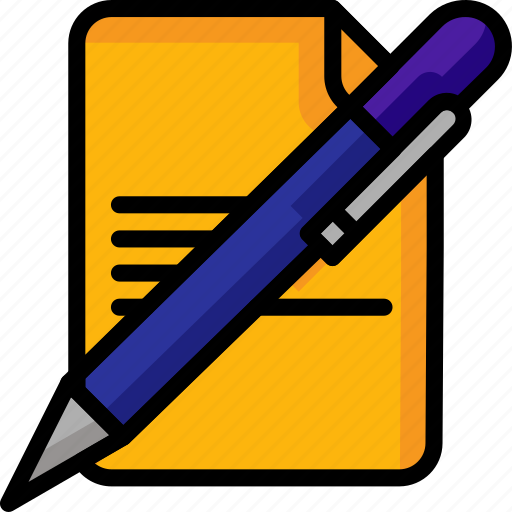 Color, office, page, pen, school, stationary, ultra icon - Download on Iconfinder