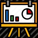 board, color, office, presentation, school, stationary, ultra icon