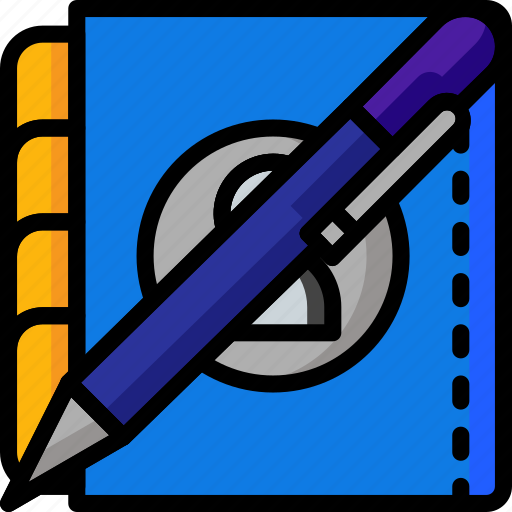 Color, office, organiser, pen, school, stationary, ultra icon - Download on Iconfinder