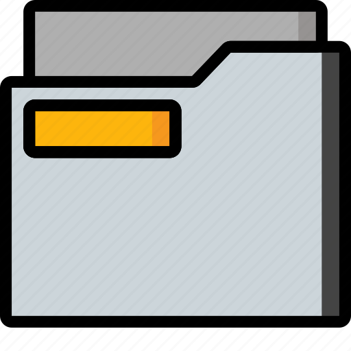 Color, document, folder, office, school, stationary, ultra icon - Download on Iconfinder