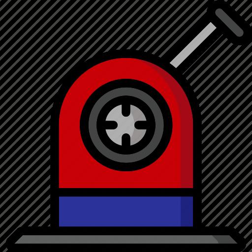 Color, desktop, office, pencil, school, sharpener, stationary icon - Download on Iconfinder