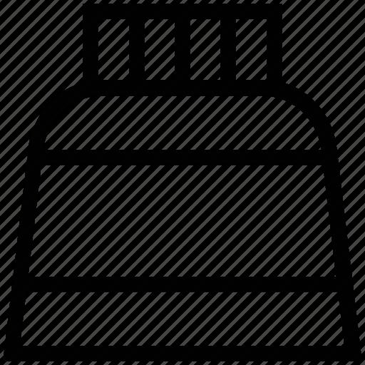 bottle, ink, ink bottle, ink pot, inkwell, jar icon