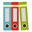 archive, business, document, file, folder, office, paper icon