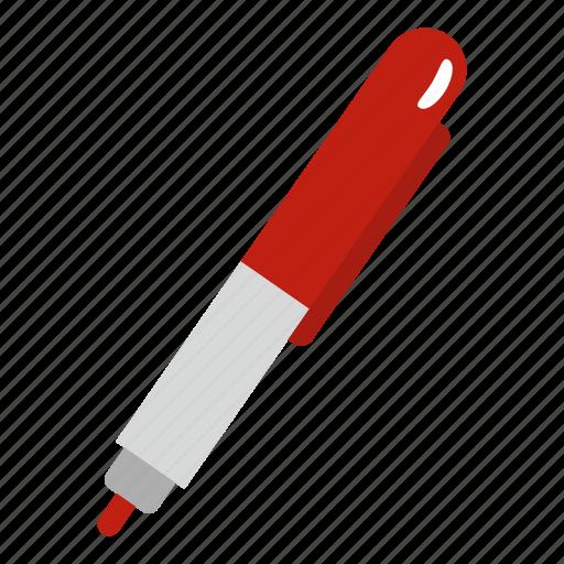drawing, felt, instrument, marker, pen, tip, white icon