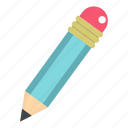 draw, drawing, education, graphite, pencil, school, write icon