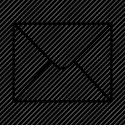 digital, ecommerce, envelope, interface, mail, stationery, website icon