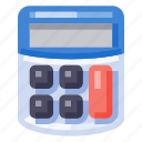 business, calculator, equipment, office, stationery, work icon