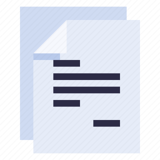 business, document, equipment, office, stationery, work icon