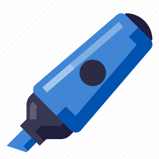 Business, equipment, marker, office, stationery, work icon - Download on Iconfinder