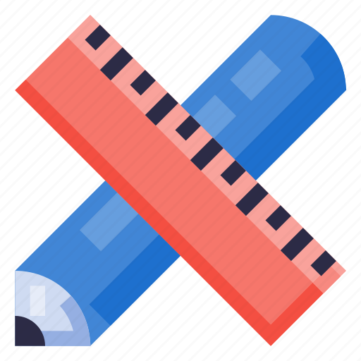 Business, equipment, office, pencil, ruler, stationery, work icon - Download on Iconfinder