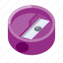 business, equipment, office, sharpener, stationery, work icon