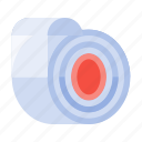business, equipment, office, stationery, tape, work icon