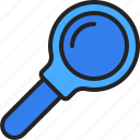 search, magnifier, zoom, loupe, office, material