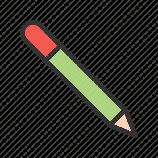 art, design, draw, line, paper, pencil, write icon