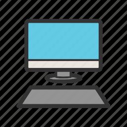 computer, desktop, laptop, monitor, office, pc, screen icon