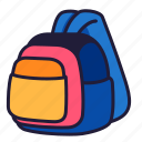 stationery, office, school, education, bag, backpack, academy