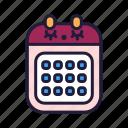 stationery, office, school, education, schedule, calendar