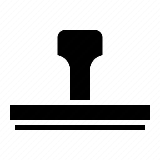 rubber, stamp, stationery, tool icon