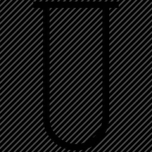 chemistry tubes, lab tube, laboratory, laboratory glassware icon