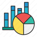 analysis, charts, pie chart, planning, sales