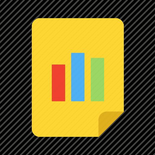 analytics, chart, rising, statistics icon icon