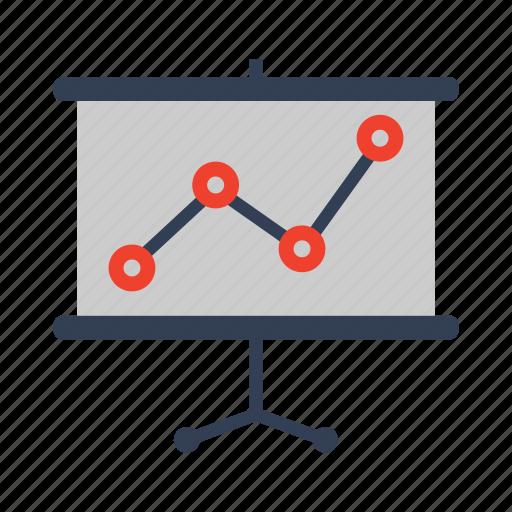 analytics, finance, graph, statistics icon icon