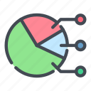 analytics, chart, graph, pie, report, statistics, stats icon