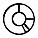 chart, circle, segments icon