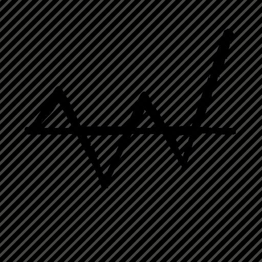 chart, line icon