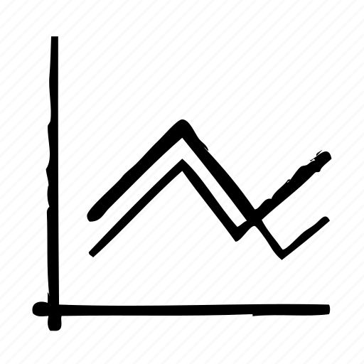 chart, grow, line icon