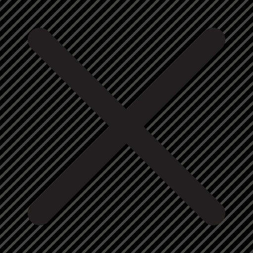 checkmark, mistake, no, status, wrong icon