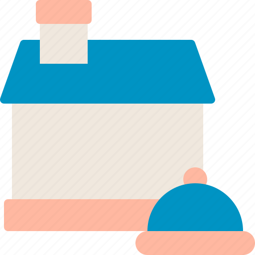Catering, delivery, food, home icon - Download on Iconfinder