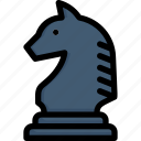 activities, chess horse, enjoy, game, hobby, lifestyle, stay at home icon