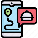 app, lifestyle, hobby, food delivery, enjoy, activities, stay at home icon
