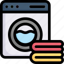 activities, enjoy, hobby, laundry a shirt, lifestyle, stay at home, washing machine icon