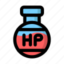game, health, hp, potion, rpg icon