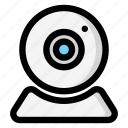 cam, camera, skype, webcam icon