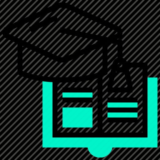 Degree, education, graduation, school, university icon - Download on Iconfinder