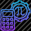 calculation, formula, compute, method, mathematics icon