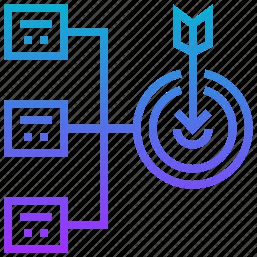 objective purpose aim goal diagram 512 aim, diagram, goal, objective, purpose icon